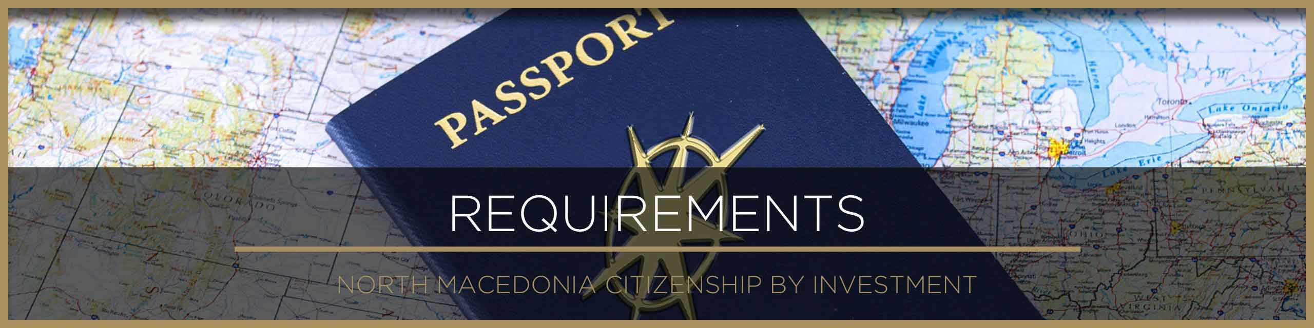 North Macedonia citizenship requirements